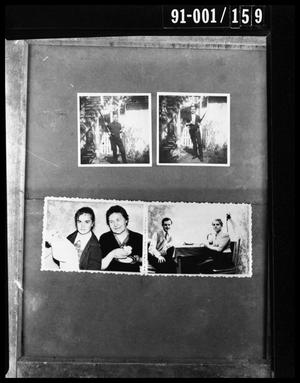 Primary view of object titled 'Evidence: Family Portraits and Oswald with Rifle'.
