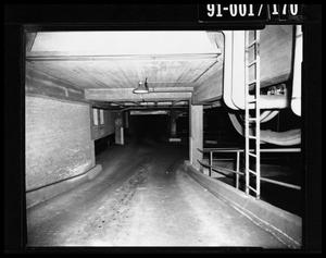Primary view of object titled 'City Hall Basement [Negative]'.