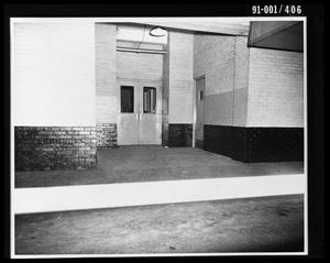 City Hall Basement, Southeast Door to Jail [Print]