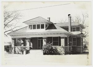 Primary view of object titled '[Easley Home Photograph #1]'.