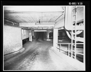Primary view of object titled 'City Hall Basement [Print]'.