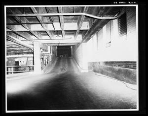 Primary view of object titled 'City Hall Basement, Commerce Street Ramp [Print]'.