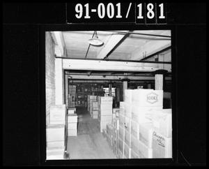 Primary view of object titled 'Boxes in the Texas School Book Depository'.