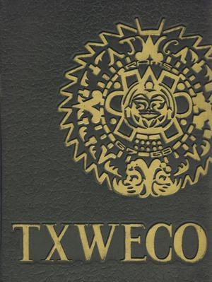 Primary view of object titled 'TXWECO, Yearbook of Texas Wesleyan College, 1968'.