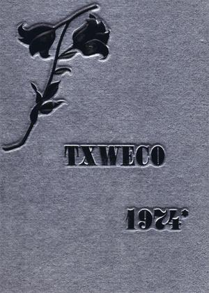 Primary view of object titled 'TXWECO, Yearbook of Texas Wesleyan College, 1974'.