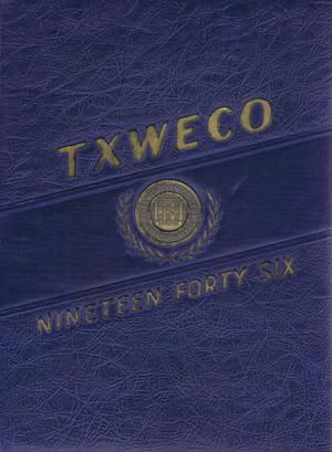 Primary view of object titled 'TXWECO, Yearbook of Texas Wesleyan College, 1946'.
