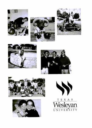 Primary view of object titled 'Ram's Horn, Yearbook of Texas Wesleyan University, 1996'.