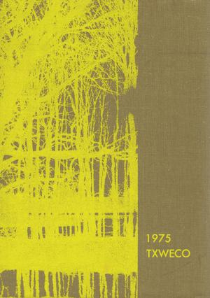 Primary view of object titled 'TXWECO, Yearbook of Texas Wesleyan College, 1975'.