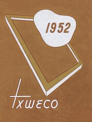 Primary view of object titled 'TXWECO, Yearbook of Texas Wesleyan College, 1952'.