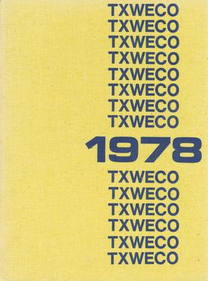 Primary view of object titled 'TXWECO, Yearbook of Texas Wesleyan College, 1978'.