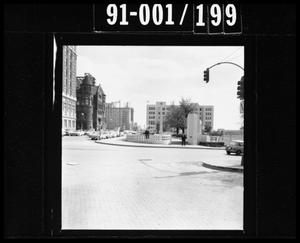 Primary view of object titled '[Photograph of Dealey Plaza]'.