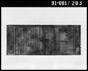 Primary view of object titled 'Deposit Certificate from Oswald's Home'.