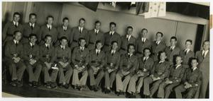 Primary view of object titled '1937 Schreiner Institute Glee Club in Uniform'.
