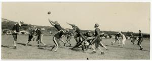 Primary view of object titled 'Early Schreiner Institute Football Game'.