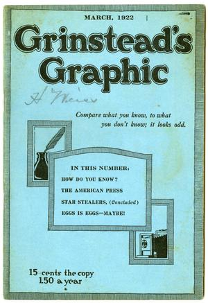 Grinstead's Graphic, March 1922