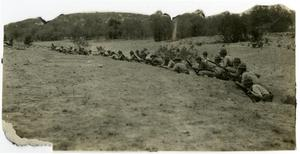 Primary view of object titled 'Target Practice with a Long Firing Line'.