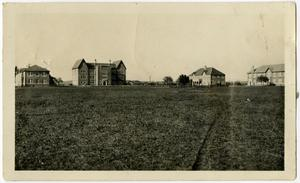 Primary view of object titled 'Schreiner Institute Campus, Spring 1926'.