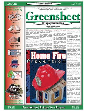 Primary view of object titled 'Greensheet (Houston, Tex.), Vol. 37, No. 258, Ed. 1 Wednesday, July 5, 2006'.