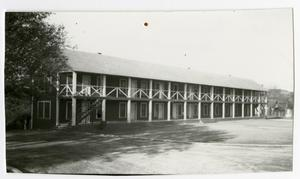 "Primary view of object titled 'Barracks ""Showboat Dorm,"" 1935'."