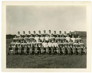 Primary view of object titled '1931 Schreiner Institute Football Team'.