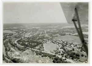 Primary view of object titled 'Aerial View of Campus'.