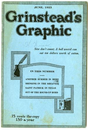 Grinstead's Graphic, June, 1923
