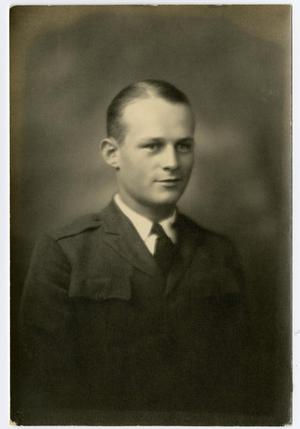 Primary view of object titled 'Portrait of Joel (Jack?) Cattin, 1929 - 1930'.