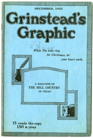 Primary view of object titled 'Grinstead's Graphic, December, 1923'.