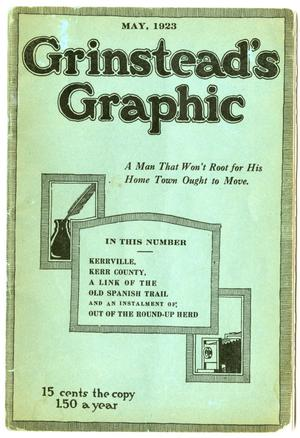 Grinstead's Graphic, May, 1923