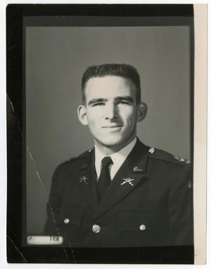 Primary view of object titled 'Portrait of Lt. John Kammerdiener, 1957'.