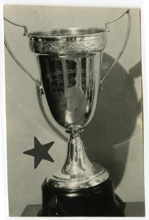 Primary view of object titled 'Battle of the Flowers Band Tournament Trophy, Second Prize'.