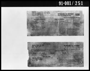 Tax Documents Removed from Oswald's Home