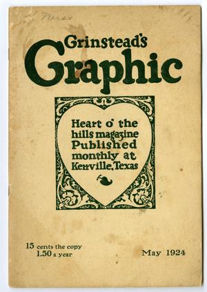 Primary view of object titled 'Grinstead's Graphic, May, 1924'.