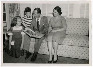 Primary view of object titled 'Edington Family, 1950's'.