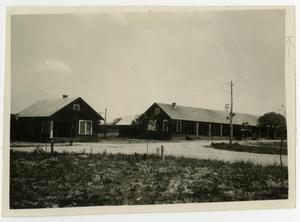 Primary view of object titled 'Temporary Barracks, 1923 - 1924'.