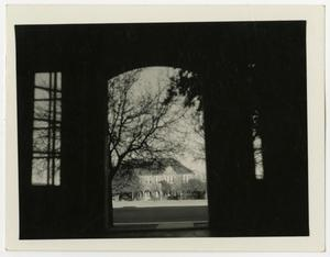 Primary view of object titled 'View from the Doorway of Hoon Hall'.