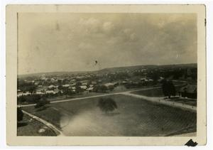 Primary view of object titled 'View of Kerrville from Atop the Admin. Building (Weir), 1923'.