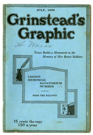 Primary view of object titled 'Grinstead's Graphic, July 1922'.