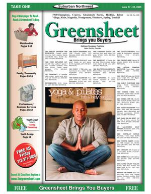 Primary view of object titled 'Greensheet (Houston, Tex.), Vol. 36, No. 228, Ed. 1 Friday, June 17, 2005'.