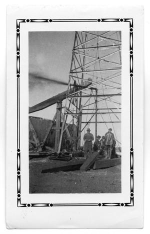Primary view of object titled 'Gulf Oil Men by Well'.