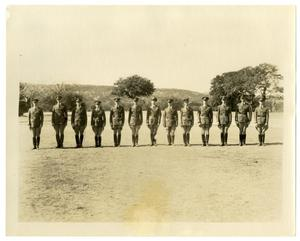 Primary view of object titled 'Military Line-up'.