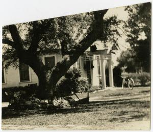 Primary view of object titled 'House with a Tree and Bike in the Yard'.