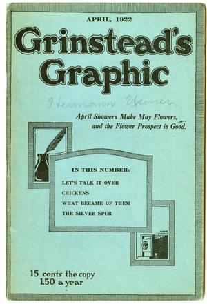 Grinstead's Graphic, April 1922
