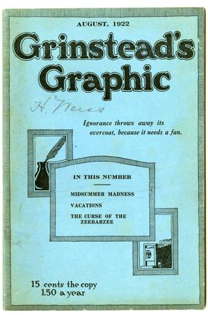 Grinstead's Graphic, August 1922