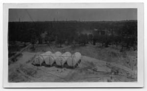 Primary view of object titled 'Gulf Oil Tanks'.