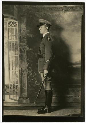 Primary view of object titled 'Portrait of a Cadet in Uniform'.