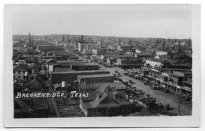 Primary view of object titled 'Derricks in Breckenridge'.