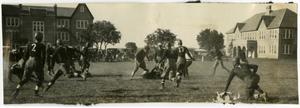 Primary view of object titled 'Schreiner football game on quad'.