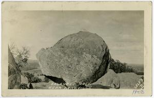 Primary view of object titled 'Balanced Rock, Near Kerrville'.