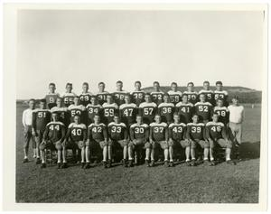 Primary view of object titled '1936 Schreiner Football Team'.